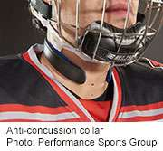 Team unveils neck collar that could protect athletes from mTBI