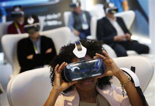 Tech enthusiasts turn up at Las Vegas gadget show