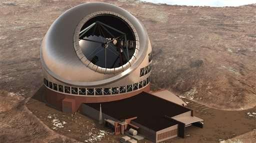 Telescope backers to resume construction on Hawaii Island