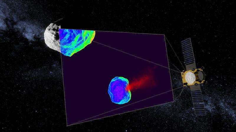Telescopes focus on target of ESA's asteroid mission