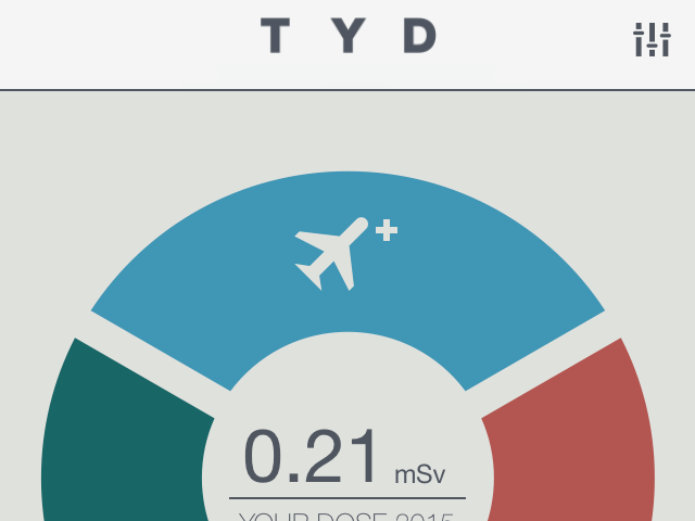 The app for frequent fliers and those who are radiation-conscious