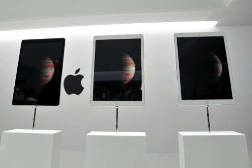 The California tech giant said in a statement the new iPad—a large-screen tablet aimed at replacing portable PCs—would be availa