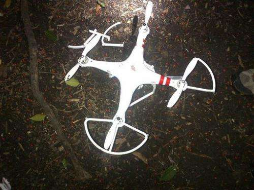The drone debate hits close to home for White House