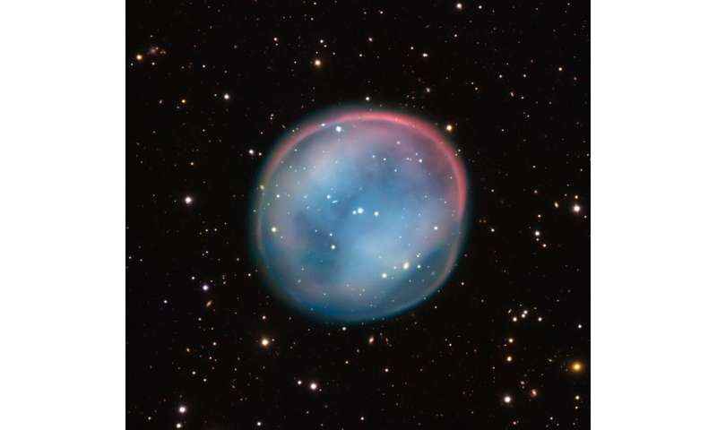 The ghost of a dying star