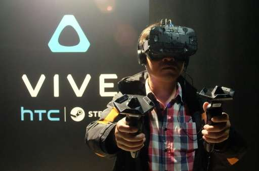 The HTC Vive will vie for consumers with Facebook's Oculus Rift and Sony's PlayStation VR, all set to be released next year as t