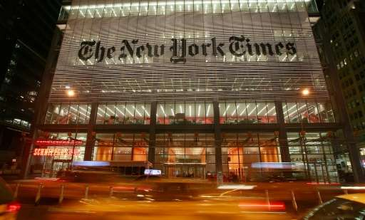 The more than one million digital-only subscribers are in addition to New York Times' 1.1 million print subscribers, who also ge