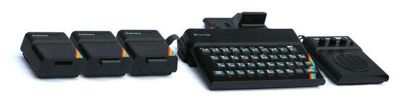 The return of pre-Internet games consoles such as the ZX Spectrum and the Atari 2600