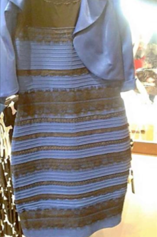 Three perspectives on 'The Dress'