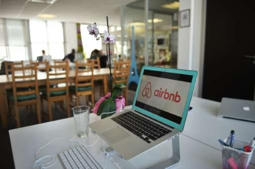 "Tongue-in-cheek ads signed ""love Airbnb"" included suggestions on ways to spend $12 million dollars collected through a"