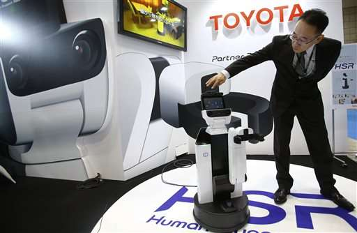 """Toyota harbors big ambitions for """"partner robot"""" business"""