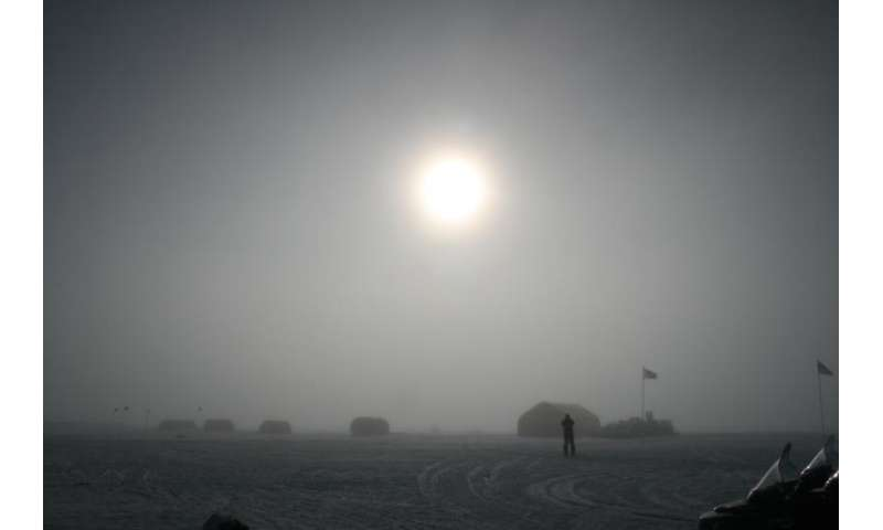 Traces of enormous solar storms in the ice of Greenland and Antarctica