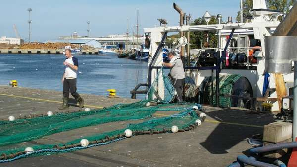 Trawling for fish and scooping up public opinion