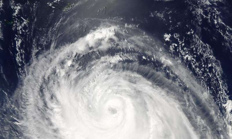 Typhoon Chan-Hom 'eyes' NASA's Aqua satellite