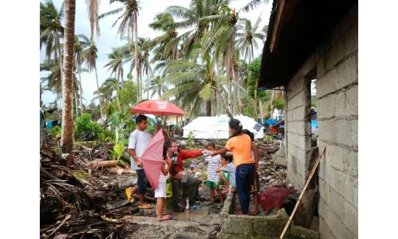 Typhoon Haiyan's storm surge may contaminate aquifer for years