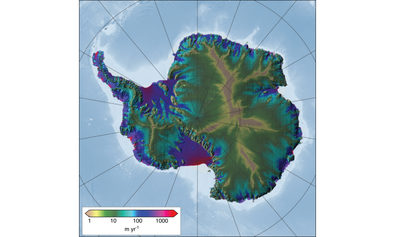 Uaf Model Used To Estimate Antarctic Ice Sheet Melting