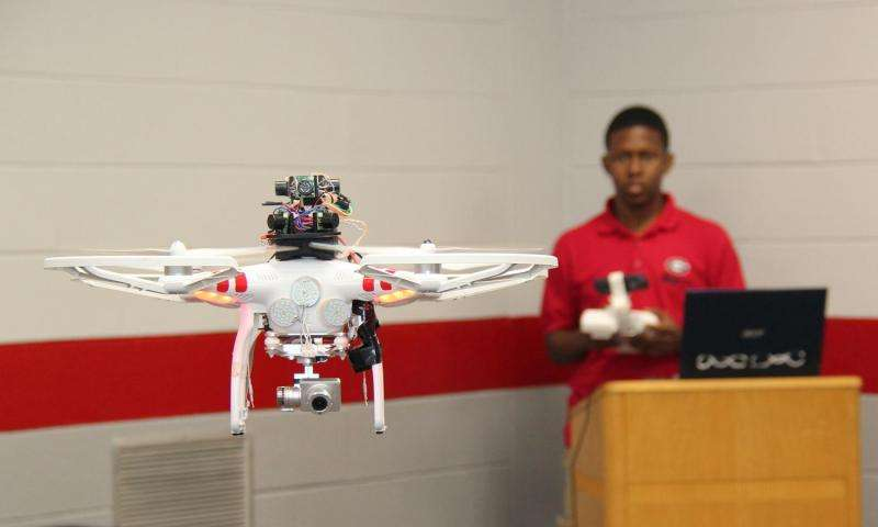 UGA engineers develop sonar navigation, mapping system for unmanned aircraft