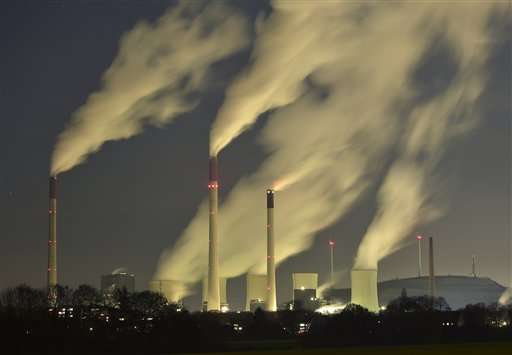 UN agency: Carbon dioxide levels hit record high in 2014