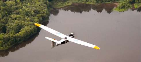 Unmanned aircraft test flights to detect mock pipeline hazards