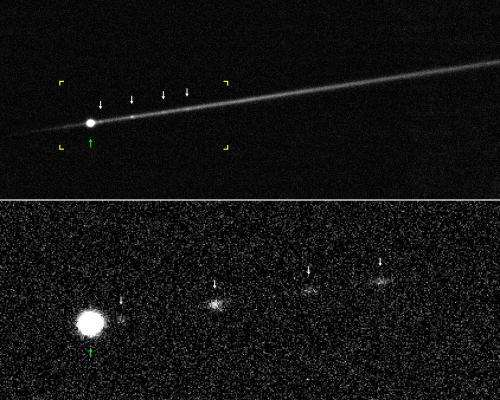 Unusual Asteroid Suspected of Spinning to Explosion