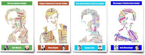Use of 'digital badges' in schools would motivate students, research shows