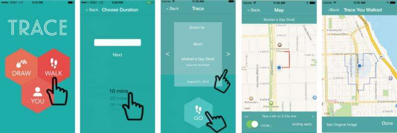 UW mapping app turns art into a sharable walking route