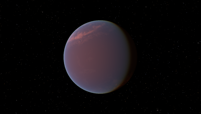 UW scientists are the first to simulate 3-D exotic clouds on an exoplanet