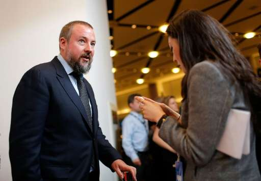 Vice co-founder and CEO Shane Smith, pictured April 2, 2013, is taking his company to American television with a joint-venture d