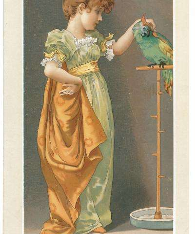 Victorians exposed to fine art through Christmas cards