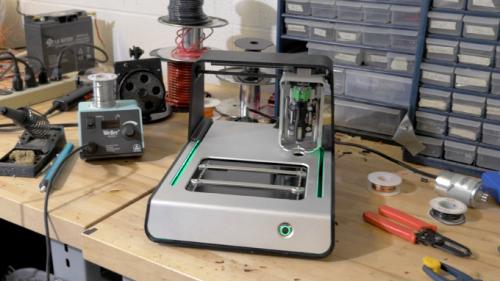 Voltera team designs circuit board prototyping machine