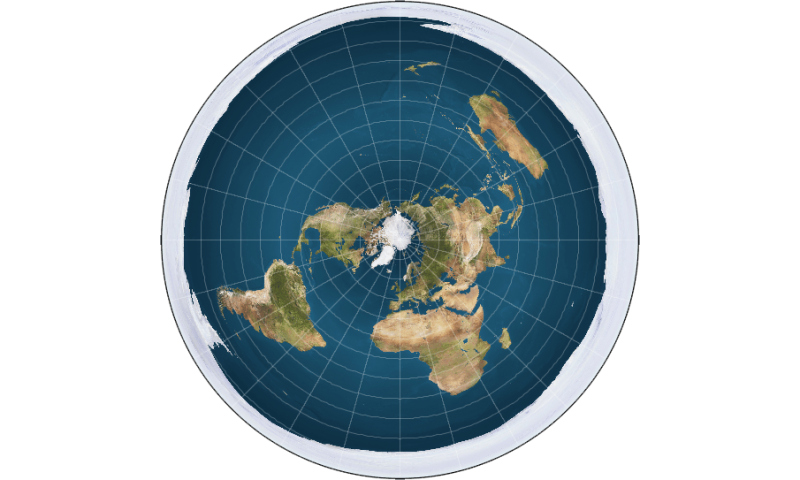 What are the earths layers model of a flat earth with the continents modeled in a disk shape and antarctica as an ice wall credit wikipedia commons ccuart