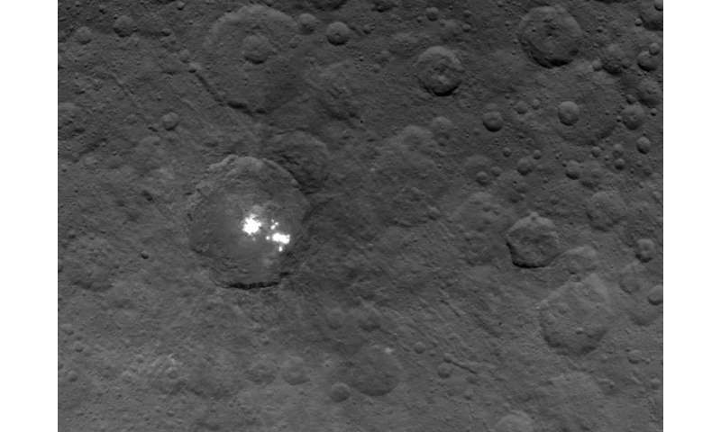 What's up with Ceres' mysterious bright spots? Reply hazy, ask again later