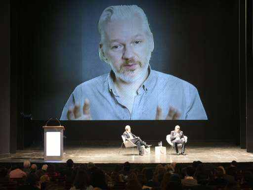 Wikileaks founder Julian Assange has been holed up in the Ecuadorian embassy in London since 2012