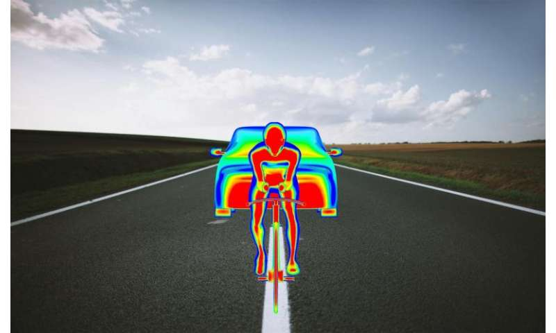 Wind effect following team car can help time trial rider win Tour prologue