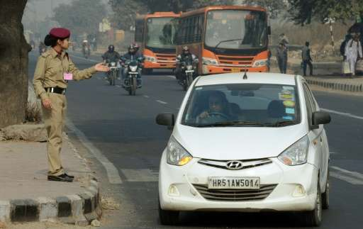 A 15-day experiment in New Delhi, which started January 1, allowed private cars on the roads only on every alternate day and sla