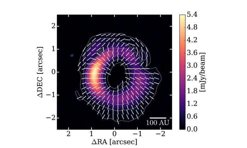 ALMA measures size of seeds of planets