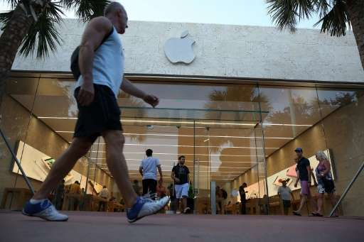Apple reported its first year-over-year quarterly revenue drop in 13 years.