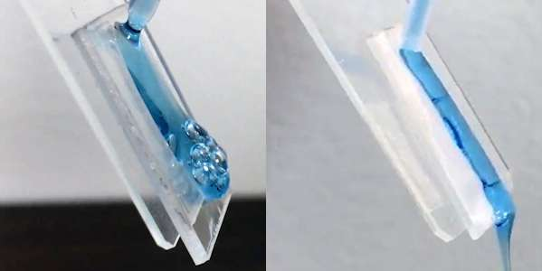 A shampoo bottle that empties completely -- every last drop