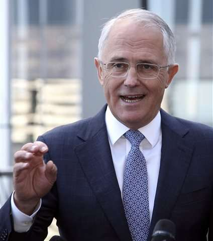 Australian prime minister announces greener policies