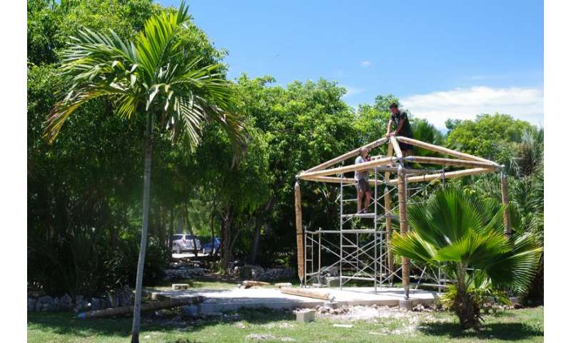 Bamboo-based build brings safe classroom to Dominican Republic