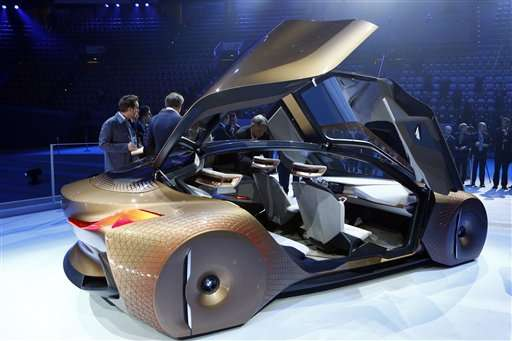 BMW Shows Off Concept Car For The Selfdriving Future - Concept car show