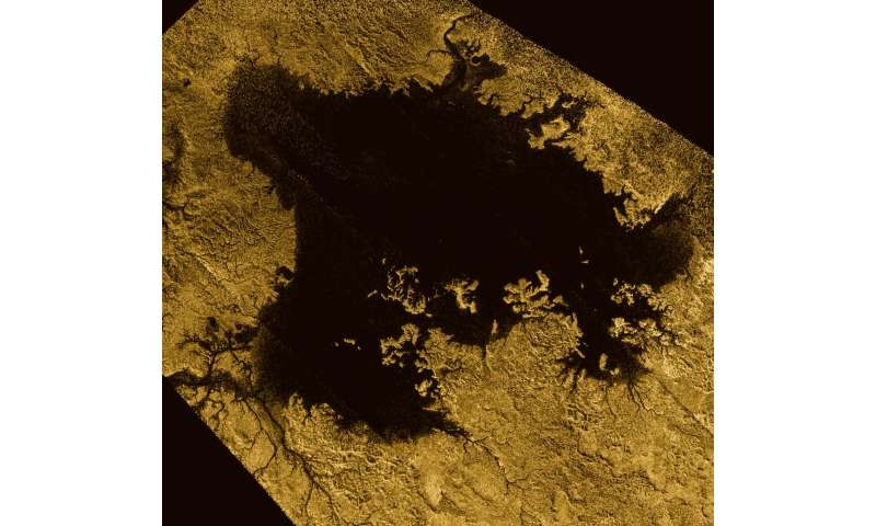 Cassini explores a methane sea on Titan