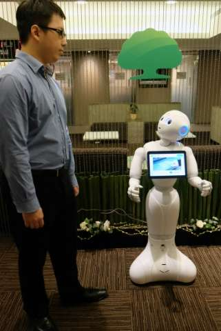 Cathay Life Insurance has stressed that Pepper is meant to supplement its human colleagues, not sideline them