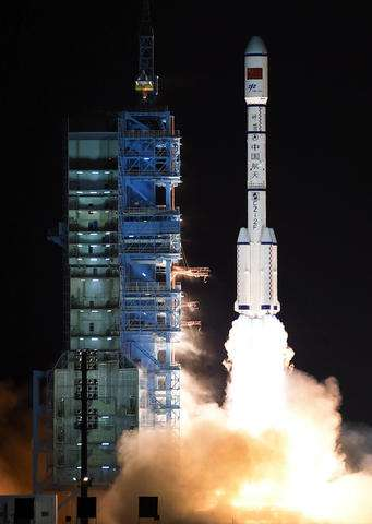 China launches second space station, Tiangong 2