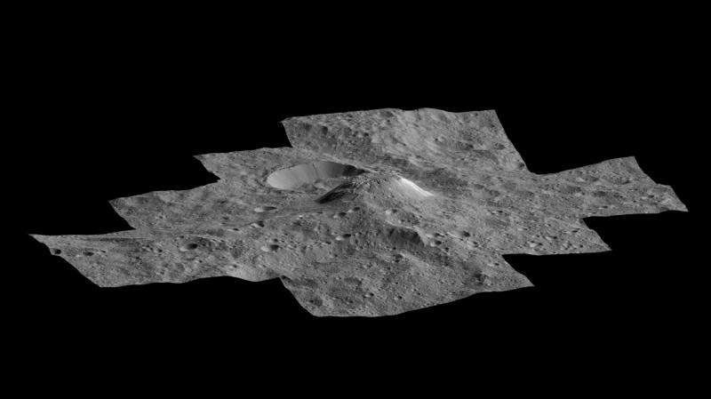 Dawn's first year at Ceres—a mountain emerges