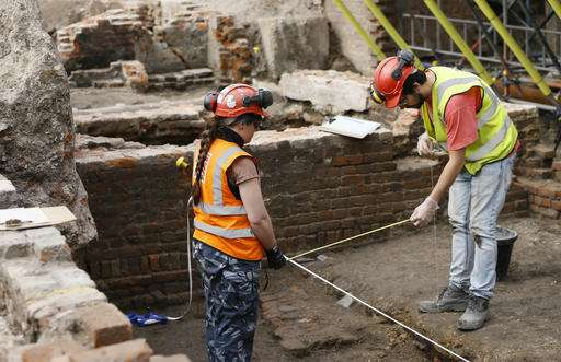 Dig at theater where Shakespeare worked uncovers a surprise