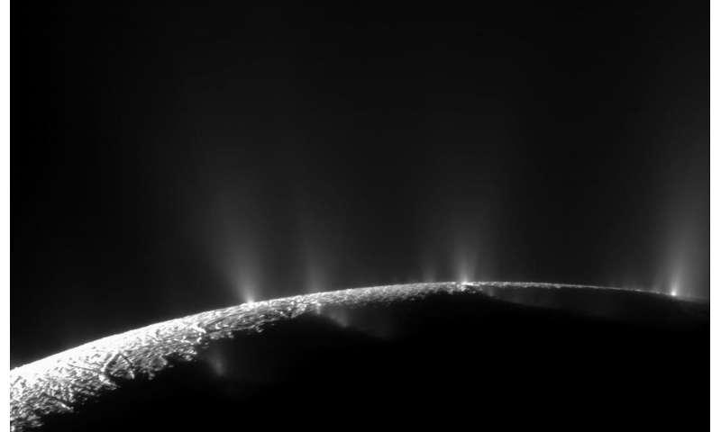 Enceladus jets: Surprises in starlight