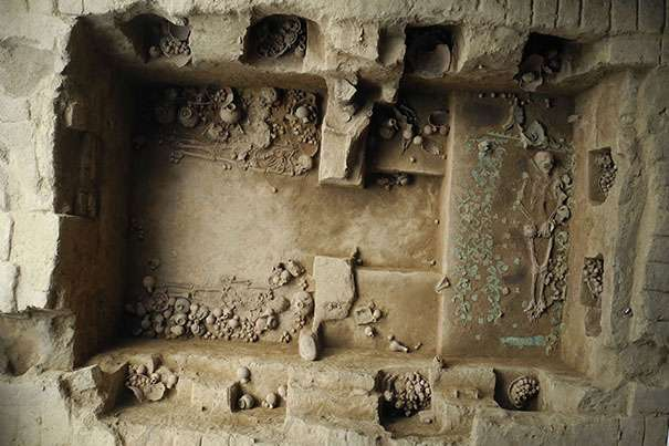 Excavated tombs of Peru's Moche priestesses provide archaeologists with troves of artifacts, data