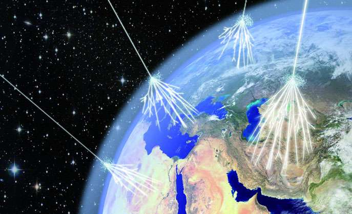 Experiments shine light on exotic cosmic rays