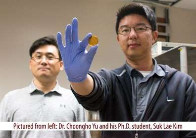 First supercapacitor that can be charged by human body heat