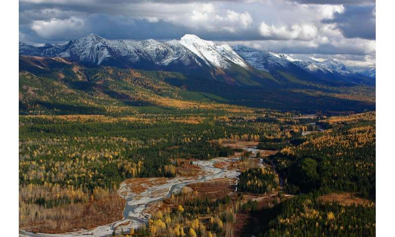 For nature, gravel-bed rivers most important feature in mountainous western North America